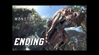 CLUTCH KILL! - MONSTER HUNTER WORLD Walkthrough Part 3 - Mission 3 ENDING (BETA)