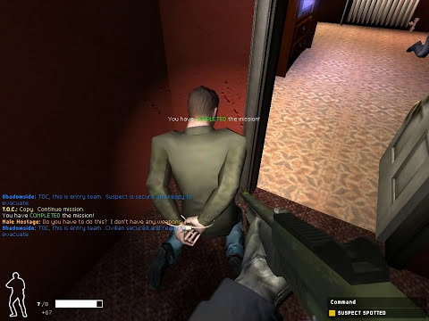 SWAT 4, SSF Realism Mod, Lone Wolf, Less Lethal, Map: Operation Dusk Till Dawn
