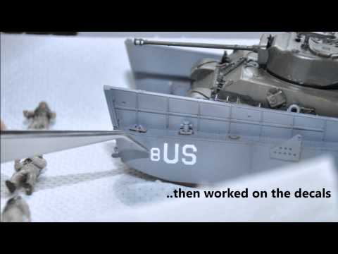 Landing Craft LCM3 1/72 Sequence Build