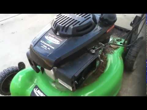 Lawn boy repair first impression