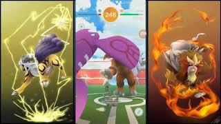 ENTEI DUO + INTERCAMBIO LUCKY RAIKOU SHINY - Pokémon GO