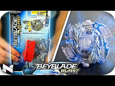 LOST LUINOR L2 Unboxing+TEST!! || Beyblade Burst Evolution || Hasbro Beyblade!
