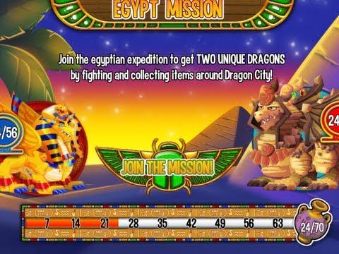 Dragon City: Egypt Island - Pharaoh & Sphynx Dragon [PART 1]