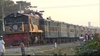 (Full HD) Upukol Express (উপকূল এক্সপ্রেস),Train / Dhaka to Noakhali
