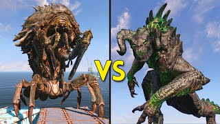 Fallout 4 - 25 DEATHCLAWS vs 13 MIRELURK QUEENS - Battles #24