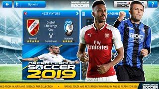 Arsenal Vs Atalanta Dream League Soccer 2019 Gameplay #46