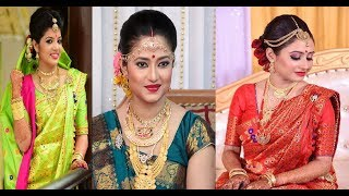 Latest Assamese Gorgeous Bridal mekhela Sadar & Makeup