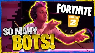 THERE'S SO MANY BOTS IN FORTNITE! W/ REVERSE2K, VALKYRAE & BASICALLYIDOWORK