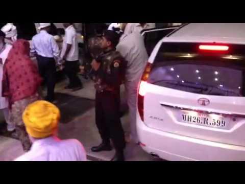 Punjab Chief Minister Prakash Singh Badal at Gurdwara Sahib