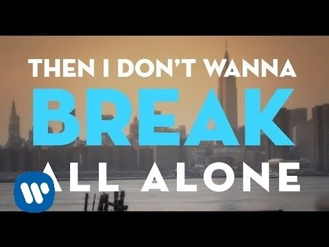 Christina Perri - I Dont Wanna Break [official Lyric Video] video