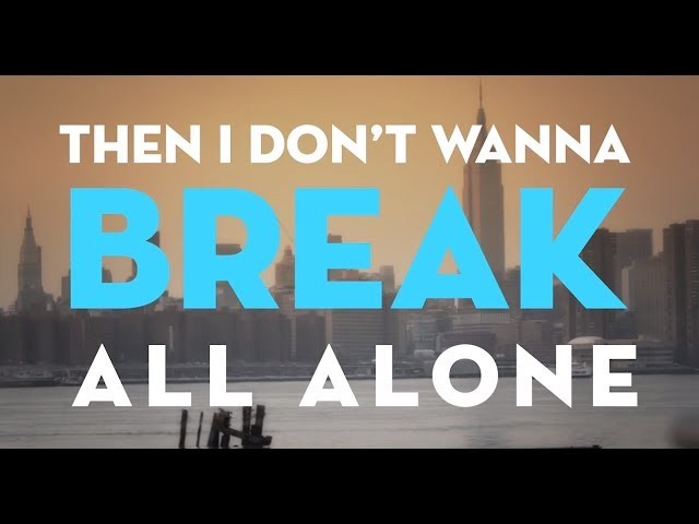 Christina Perri - I Dont Wanna Break [Official Lyric Video]