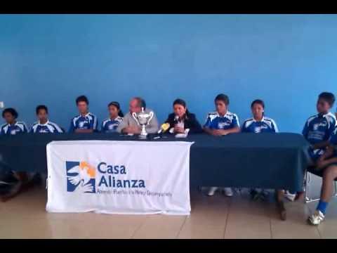 Casa Alianza Nicaragua News Confrence