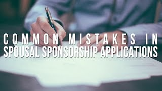 download lagu Common Mistakes In Spousal Sponsorship Applications gratis