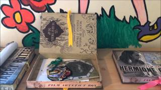 Harry Potter All 3 Artifact Boxes - Noble Collection - LeeJ2512