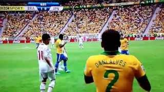 2013 FIFA Wonder goal in the Confederations Cup Brazil Brazil 1-0 Japan neymar goal