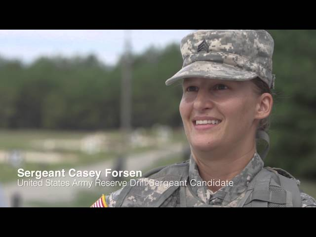 USAR Drill Sergeant Croslin and the Army Reserve