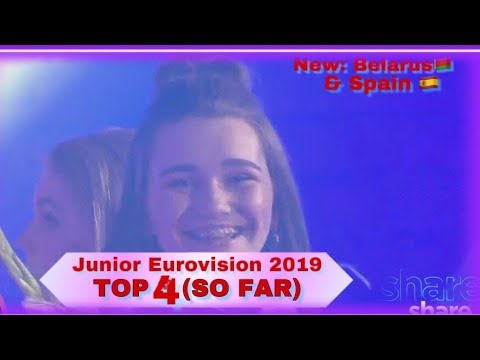 Junior Eurovision 2019 - My Top 4 (So Far) - NEW: