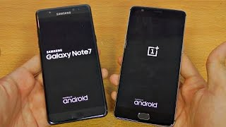 Samsung Galaxy Note 7 vs OnePlus 3 - Speed Test! (4K)