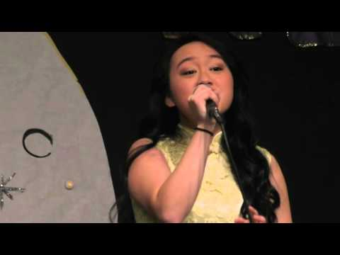 International Night -  A Chinese Song by a Hmong Girl  Lasamee Lee