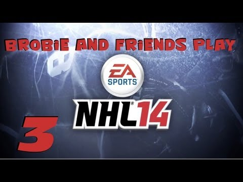 NHL 14 Online :: EA Sports Hockey League Game #3 w/ Bean, Snozz, and Tim