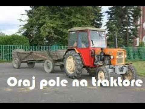 Oraj pole na traktore ROLNICZE DISCO najlepsza kompilacja [HIT]
