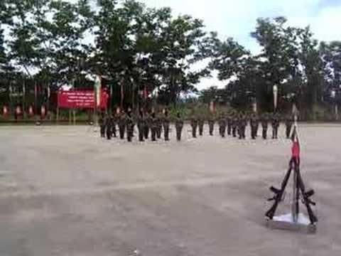 Pelancaran Kompeni Rejimen 506_Kawad Hantu