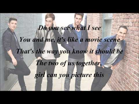 Big Time Rush - Picture This (with Lyrics)