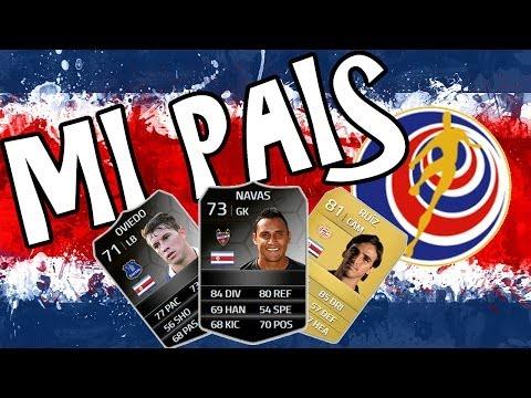 Mi País - Costa Rica - Vamos al Mundial! FIFA 14 Ultimate Team