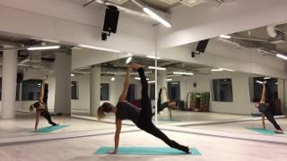 Vinyasa flow freestyle
