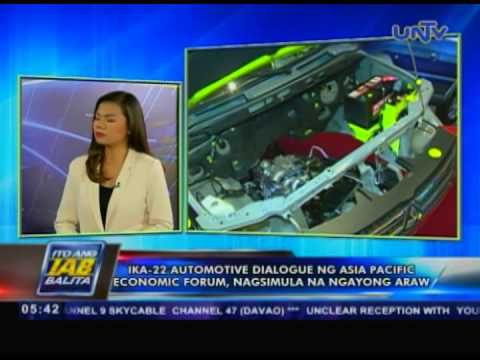 Ika-22 automotive dialogue ng Asia Pacific Economic Forum, nagsimula na