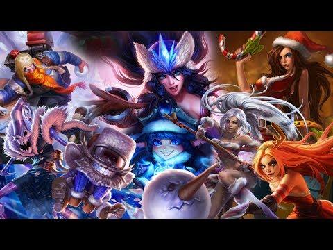 League Of Legends All Snowdown Skins 2011 2012 2013