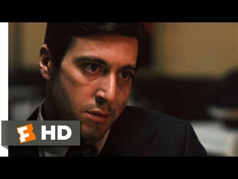 The Godfather (39) Movie CLIP - Killing Sollozzo and McCluskey...