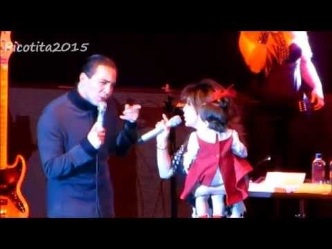 CRISTIAN CASTRO Ft VERONICA CASTRO - Aprendi a Llorar / Ven - Pepsi Center Cd. de México 7/feb/2015