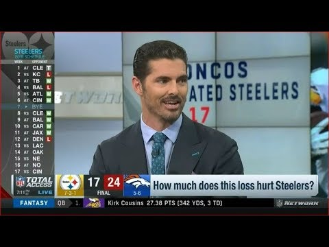 [BREAKING NEWS] How much does this oss hurt Steelers?