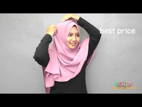 Tutorial Pashmina Instan Hamida by Aisha Hijab This video show you how to use one stepThis video show you how to use one stepinstant hijabfromThis video show you how to use one stepThis video show you how to use one stepinstant hijabfromVanilla Hijab. It only use one hole and everything already set up.
