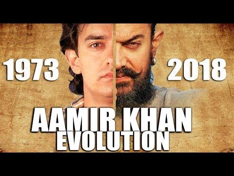 AAMIR KHAN Evolution  (1973 - 2018)