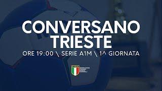 Serie A1M [1^ giornata]: Conversano - Trieste 22-19