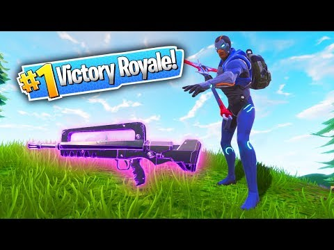 25 KILLS WITH *NEW* FORTNITE GUN! (Fortnite: Battle Royale)