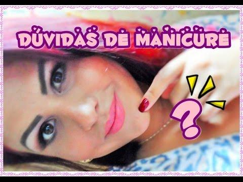 DÚVIDAS DE MANICURES parte1 Segredos de Manicure......