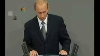 Putin spricht Deutsch / Putin speaks German 3/3