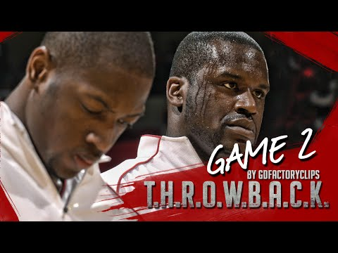 Throwback: Shaquille O'Neal & Dwyane Wade Full Highlights 2006 Playoffs R1G2 vs Bulls - SICK!