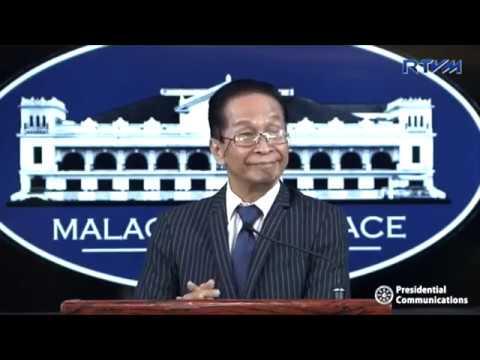 Panelo says Duterte did not endorse Aguilar's Senate bid