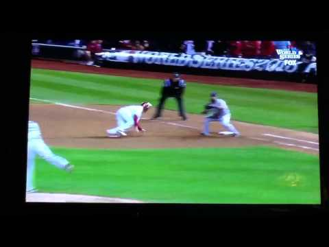 Koji Uehara 2013 World Series Pickoff Save!
