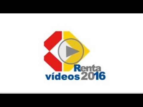 Renta 2016-Enlaces de vídeos de AEAT
