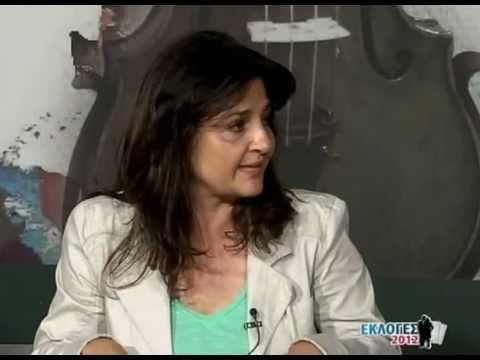Ιωάννα Κοντούλη στο Corfu Chanel