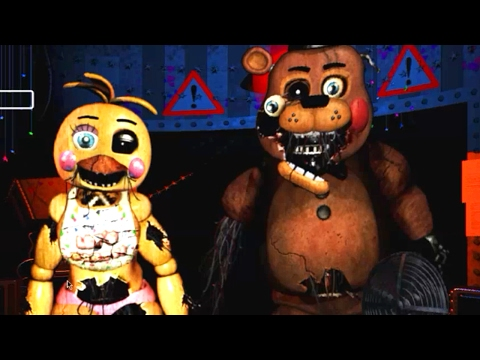 The Return To Abomination's Night 2 *Withered Toy Animatronics*