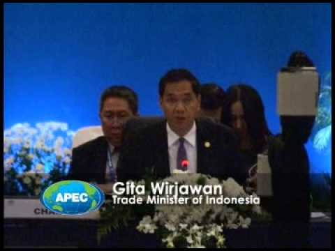 2013 APEC Ministers Responsible for Trade: Opening Remarks