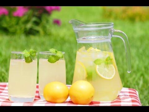 Быстрый лимонад в домашних условиях