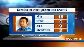 Download Ind vs Aus, 2nd ODI: MS Dhoni Wins the Toss and Elects to Bat First in Gabba ODI - India TV 3Gp Mp4