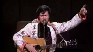 Andy Kaufman Does Elvis Presley